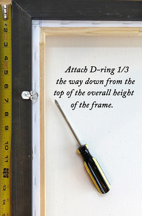 How To Wire Picture Frames – Redwood Camera Club