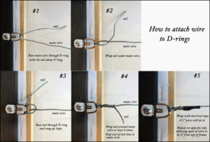 How To Wire Picture Frames Redwood Camera Club